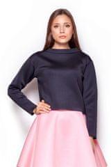 Figl Ženska bluza M341 black, črna, L