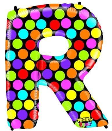Grabo Nafukovací balónek písmeno R barevné 102 cm