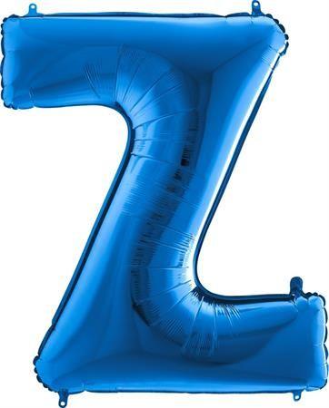 Grabo Nafukovací balónek písmeno Z modré 102 cm