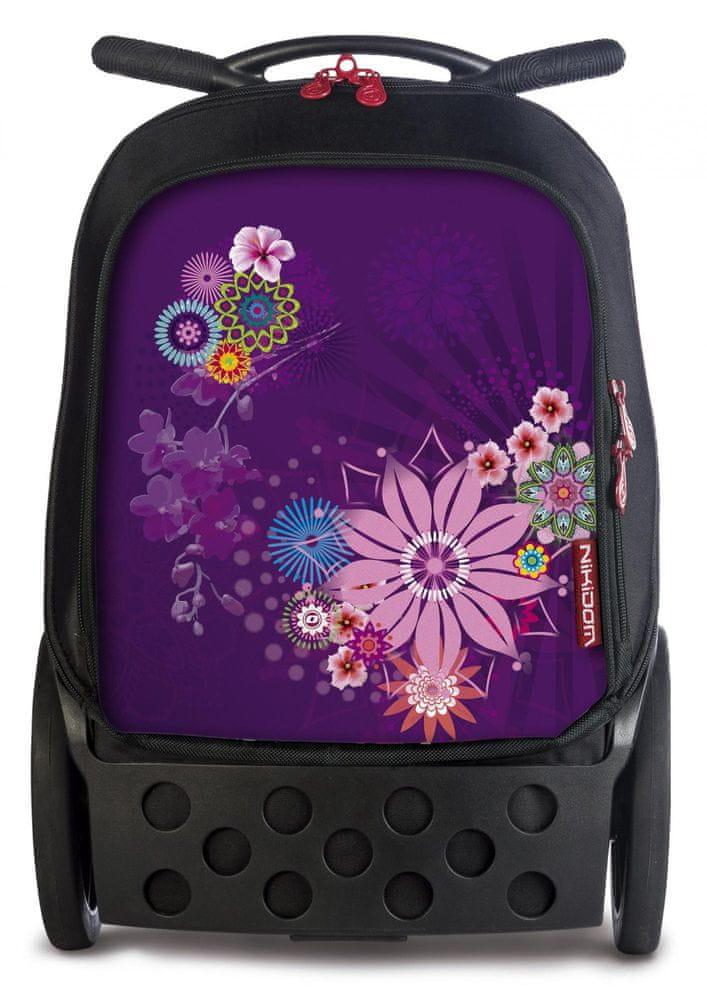Nikidom Roller XL batoh na kolečkách Bloom