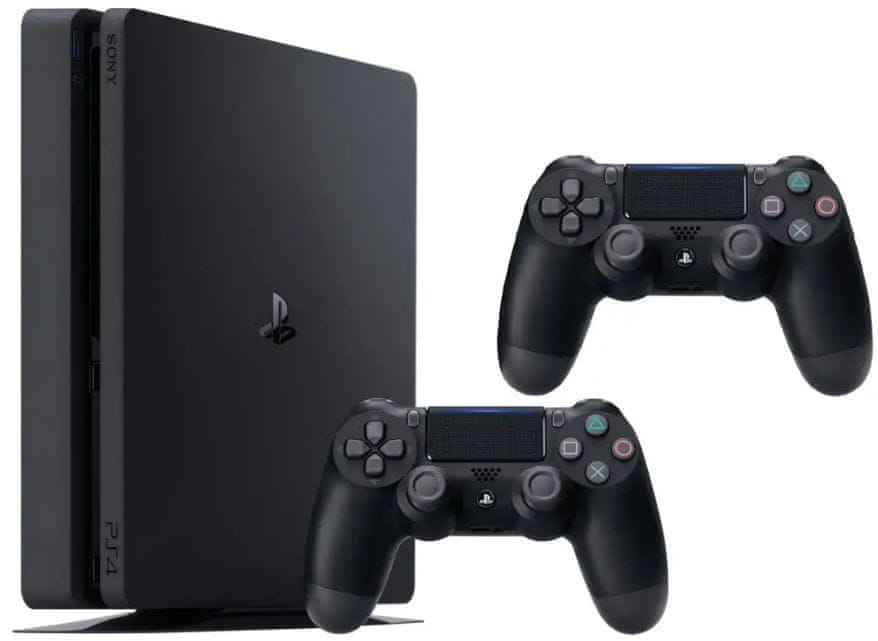 Sony PlayStation 4 Slim - 500GB + Dualshock 4