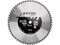 Extol Craft Kotouč pilový s SK plátky, 500x3,0x30mm, 60T, šířka SK plátku 3,8mm