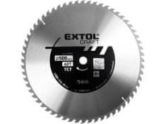 Extol Craft Kotouč pilový s SK plátky, 600x3,0x30mm, 60T, šířka SK plátku 3,8mm