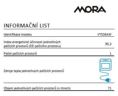 Mora VT 536 AW