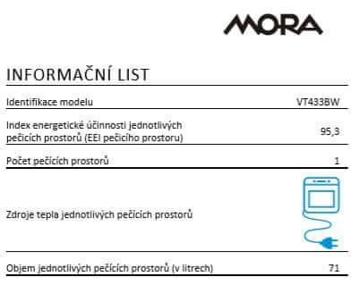 Mora VT 433 BW