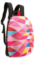 Zipit plecak Shell Pink triangles