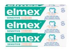 Elmex Zubná pasta Sensitive 3x 75 ml