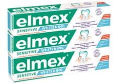 Elmex Zubná pasta Sensitive Whitening 3x 75 ml