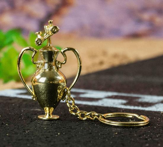 Rubber Road Crash Team Racing Nitro-Fueled Trophy obesek za ključe