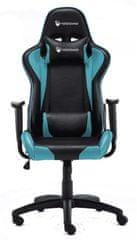Robaxo Race, gamerski stol, moder