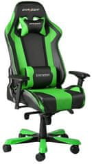 DXRacer King KS06/NE, fekete/zöld (KS06/NE)