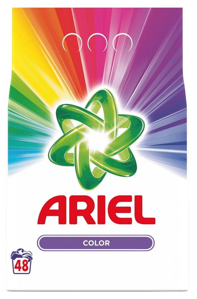 Ariel Color Prací Prášek 3,6 kg, 48 Praní