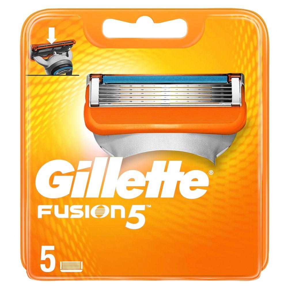 Gillette Fusion Náhradní Hlavice 5 ks