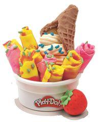 Play-Doh Komplet zloženih sladoledov