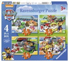 Ravensburger Puzzle 069361 Tlapková Patrola 4 v 1