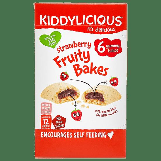 Kiddylicious Koláčky s jahodovou náplní 3x (6x22g)
