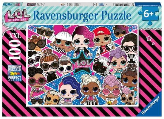 Ravensburger sestavljanka 128822 LOL, 100 delov