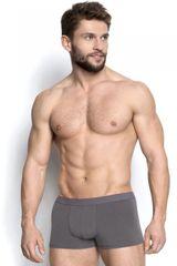 Henderson Férfi boxeralsó 18724 Burito 09x grey + Nőin zokni Gatta Calzino Strech, szürke, XL