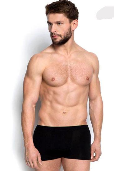 Henderson Férfi boxeralsó 34325 99x black + Nőin zokni Gatta Calzino Strech, fekete, XXL