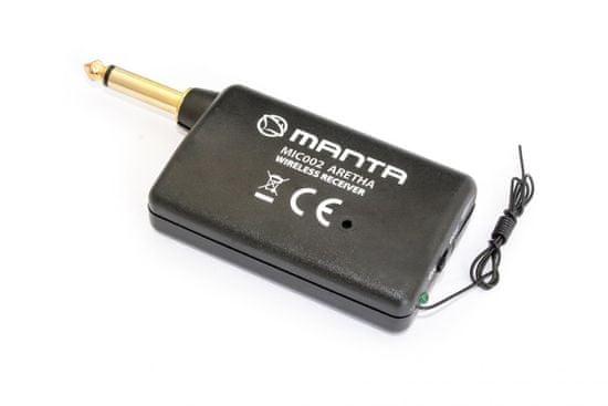 Manta MIC002 Aretha, brezžični mikrofon karaoke
