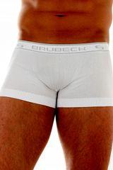 Brubeck Moške boksarice 10050A white, bela, M