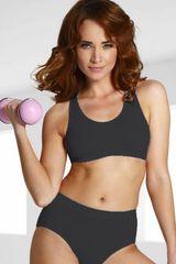 Eldar Fitness top Sierra beack, čierna, S