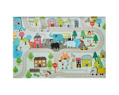 Obsession Detský kusový koberec Torino kids 231 STREET 80x120