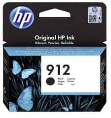 HP 912 kartuša, črna, 300 strani
