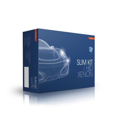 M-Tech Kit Xenon Slim Basic, H1 6000K /roza