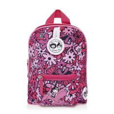 BABYMEL KIDS Floral Pink detský batoh mini