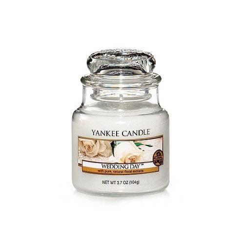 Yankee Candle Aromatická svíčka Classic malý Wedding Day 104 g