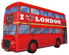 Ravensburger 3D Puzzle 125340 Londyński autobus 216 elementów