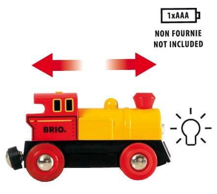 Brio World 33594 Obousměrná lokomotiva na baterie