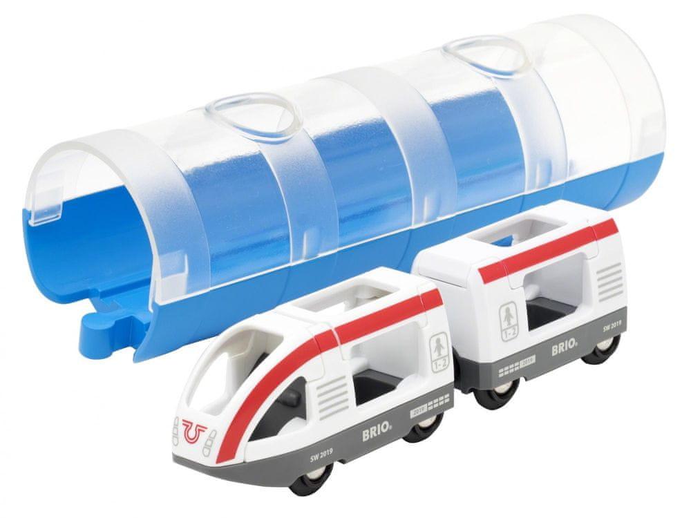 Brio World 33890 Tunel a osobní vlak