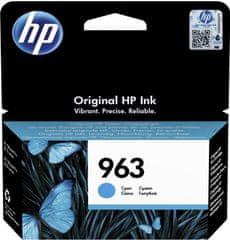 HP črnilo 963, cyan (3JA23AE)