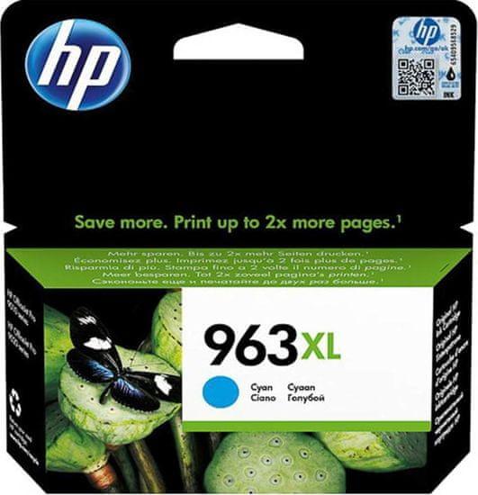 HP tinta 963XL, cyan (3JA27AE)