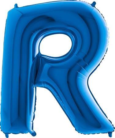 Grabo Nafukovací balónek písmeno R modré 102 cm