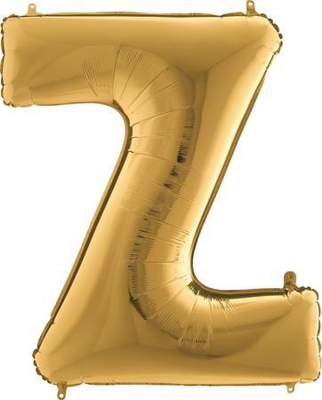 Grabo Nafukovací balónek písmeno Z zlaté 102 cm