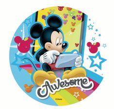 Florensuc Jedlý papier Mickey apriatelia – 21 cm