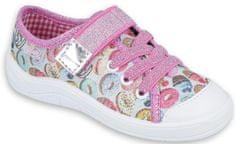 Befado dekliški čevlji s krofi, 25, večbarvni
