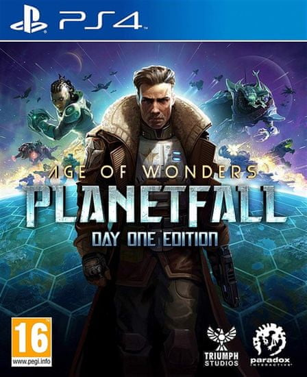 Paradox Interactive Age of Wonders: Planetfall igra (PS4)