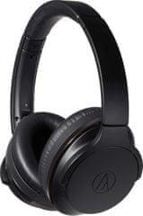 Audio-Technica słuchawki bezprzewodowe ATH-ANC900BT, czarne