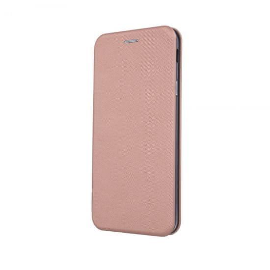 Onasi Glamur torbica za Huawei Y6 2019, preklopna, roza