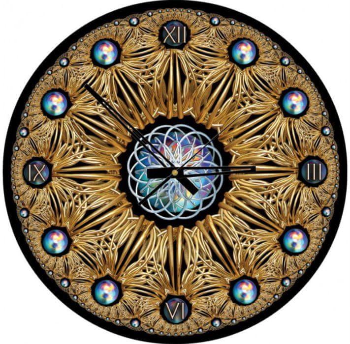 Art puzzle Puzzle hodiny Zlaté 570 dílků