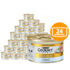 Gourmet Gold pašteta s tuno, 24 x 85 g