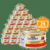 Gourmet Gold Savoury Cake pašteta za odrasle mačke, z govedino in paradižnikom, 24x 85 g