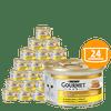 Gourmet Gold Savoury Cake pašteta za odrasle mačke, s piščancem in korenjem, 24 x 85 g