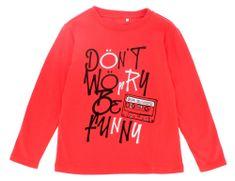 Primigi chlapecké tričko 154 červená