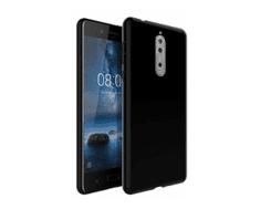 Candy tanek silikonski ovitek za Nokia 5, črn