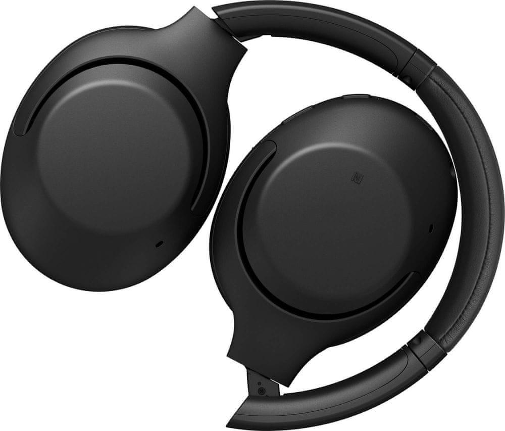 Sony WH-XB900N bezdrátová sluchátka, černá - rozbaleno